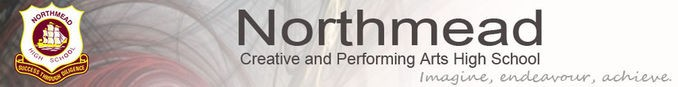Northmead Creative and Performing Arts High School banner